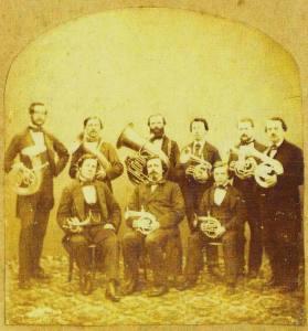 1860 Distin ventil horn Union